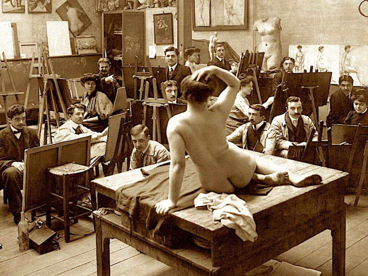 шокирующие традиции в парижской школе изящных искусств