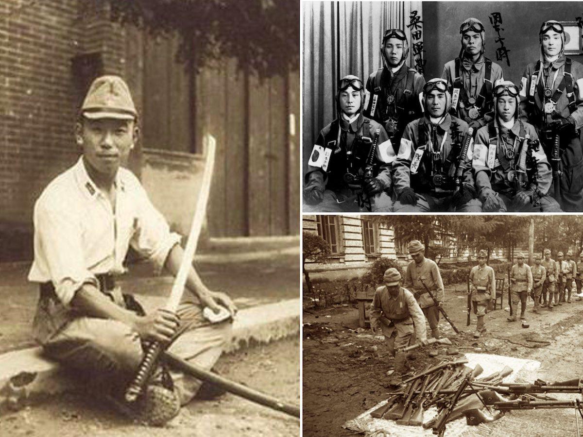 Традиция ношения катан в японской армии