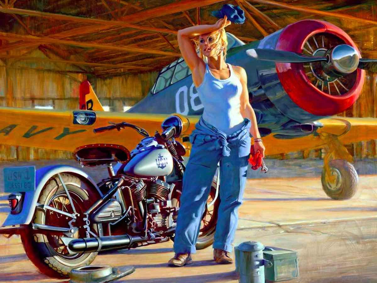 Дэвид Уль. Women of Harley