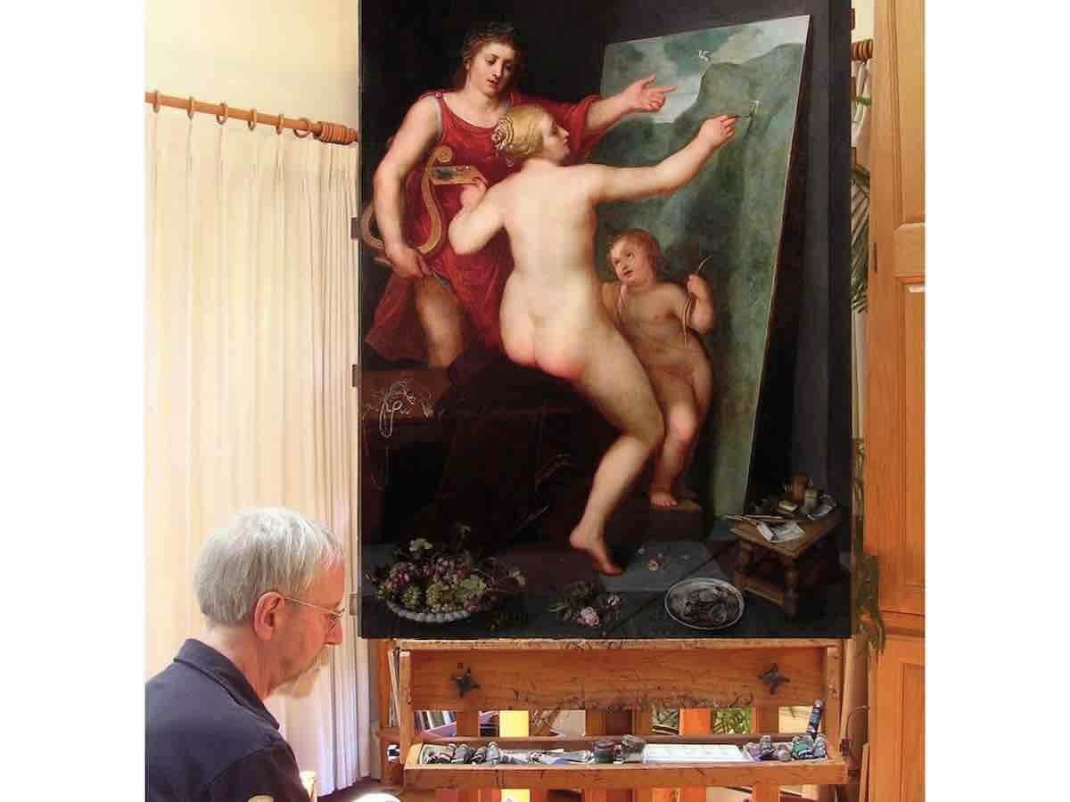 """Отто ван Веен """"Аполлон и Венера"""""""