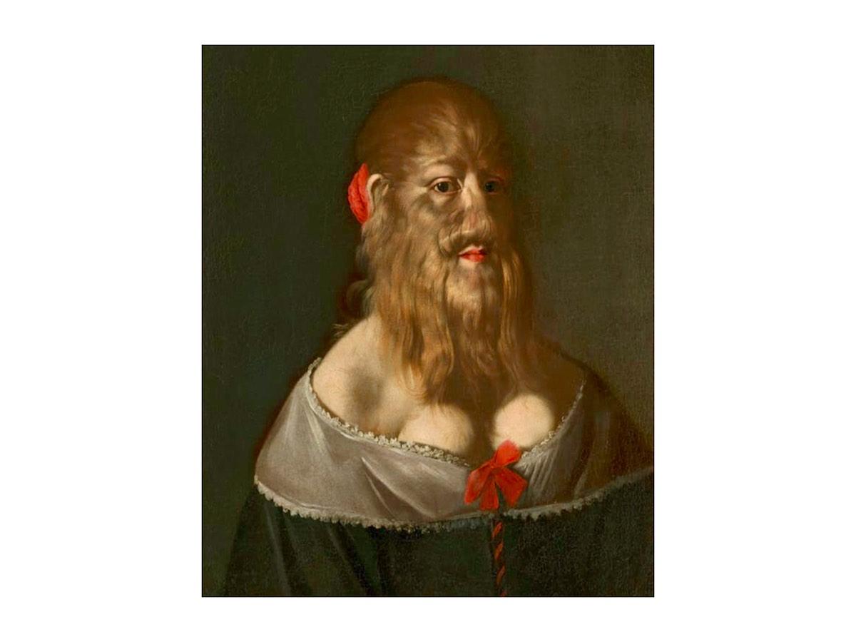 Бородатая женщина - Барбара ван Бек