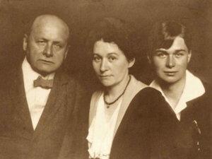 Алексей Явленский и Елена Незнакомова