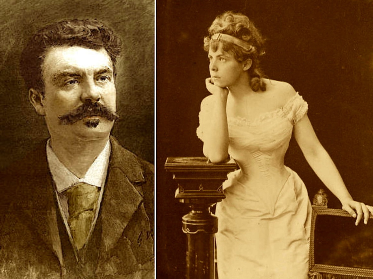 Мария Башкирцева и Ги де Мопассан