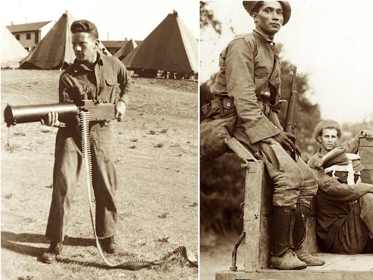 парагвайские бойцы