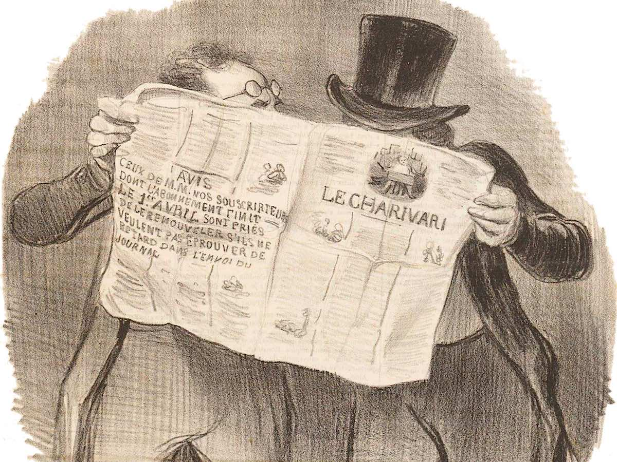 иллюстрированная газета Le Charivari