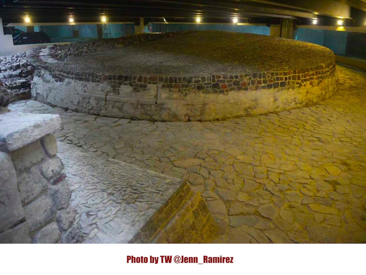 Археологический музей на территории ТРЦ в Мехико