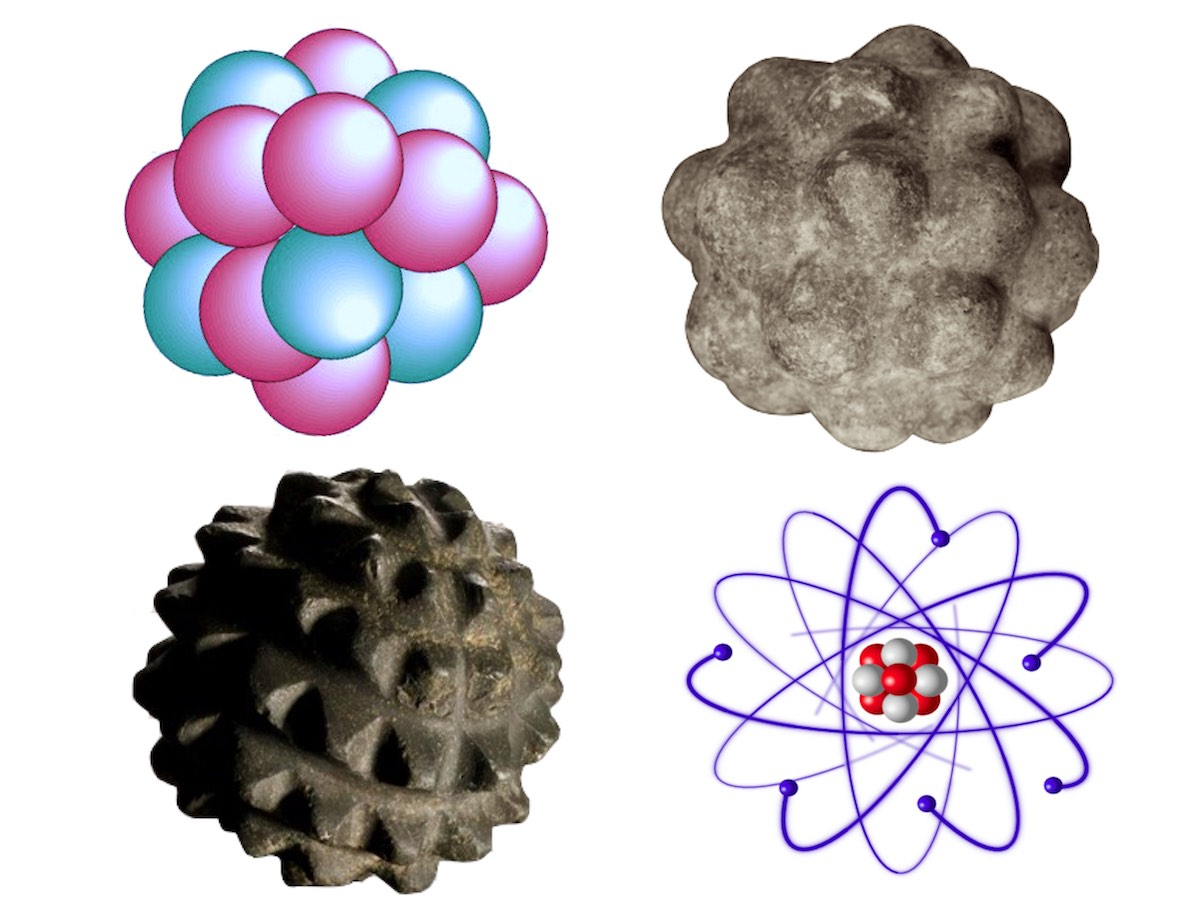 Шотландские сферы и строение атома