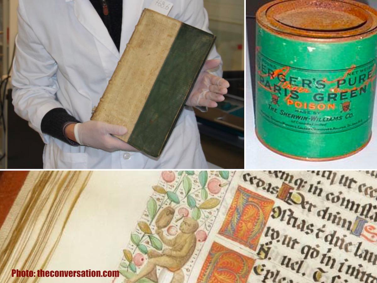 отравленная книга в библиотеке Дании
