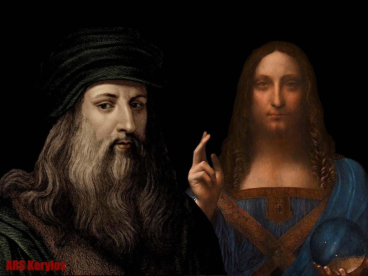 Salvator Mundi. Leonardo da Vinci