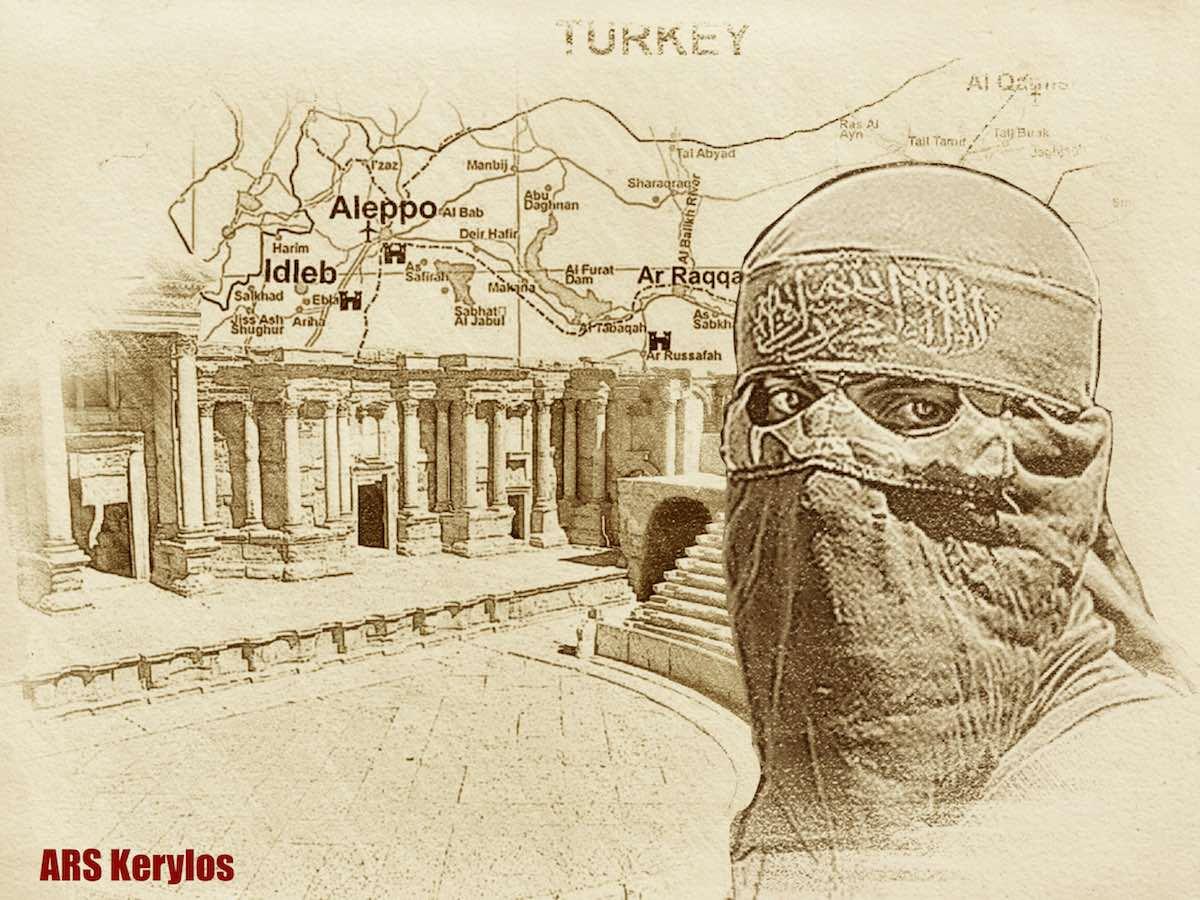 Контрабанда сирийской археологии
