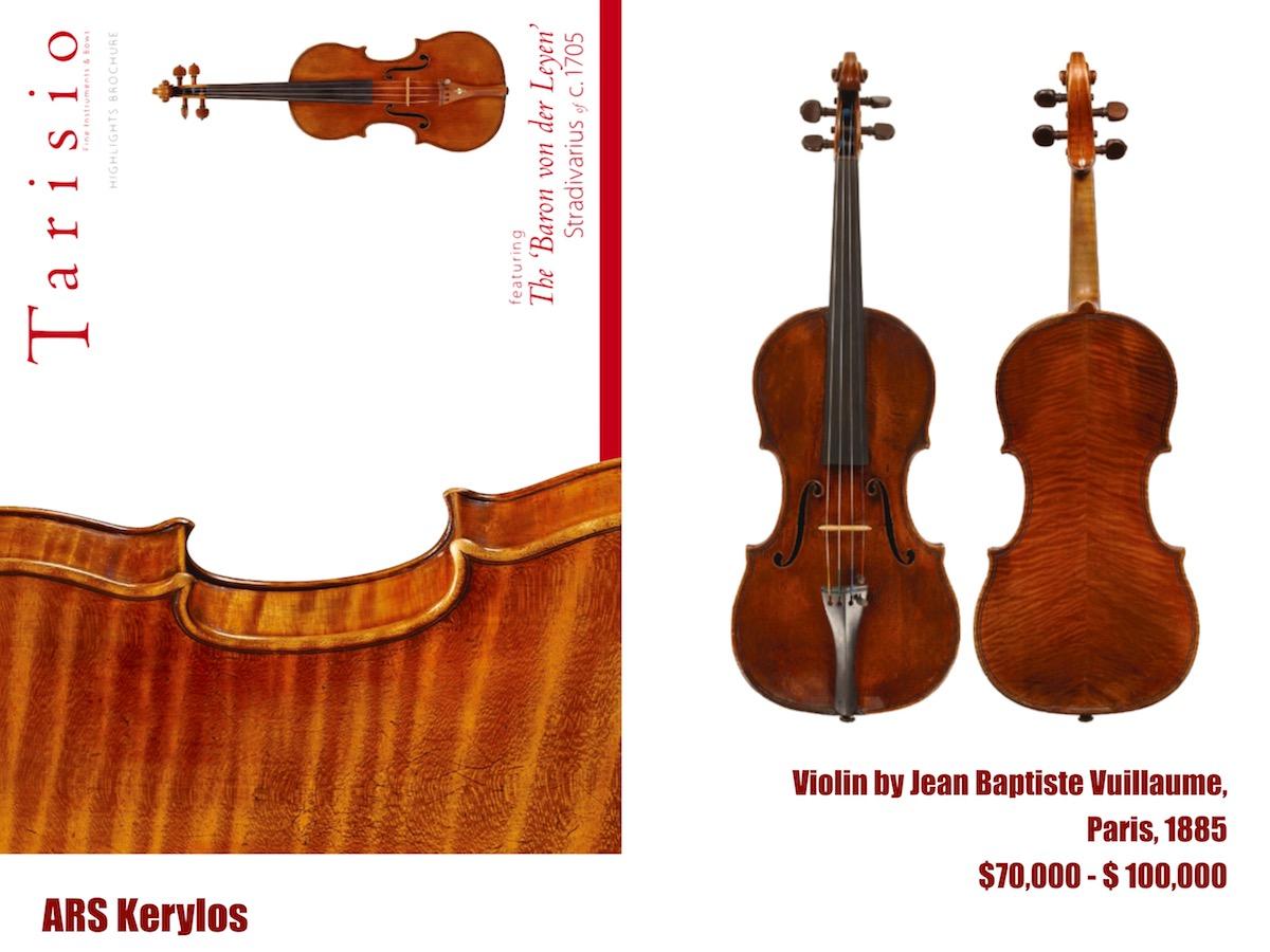 скрипка Вільома, estimate 70 —100 тисяч доларів США