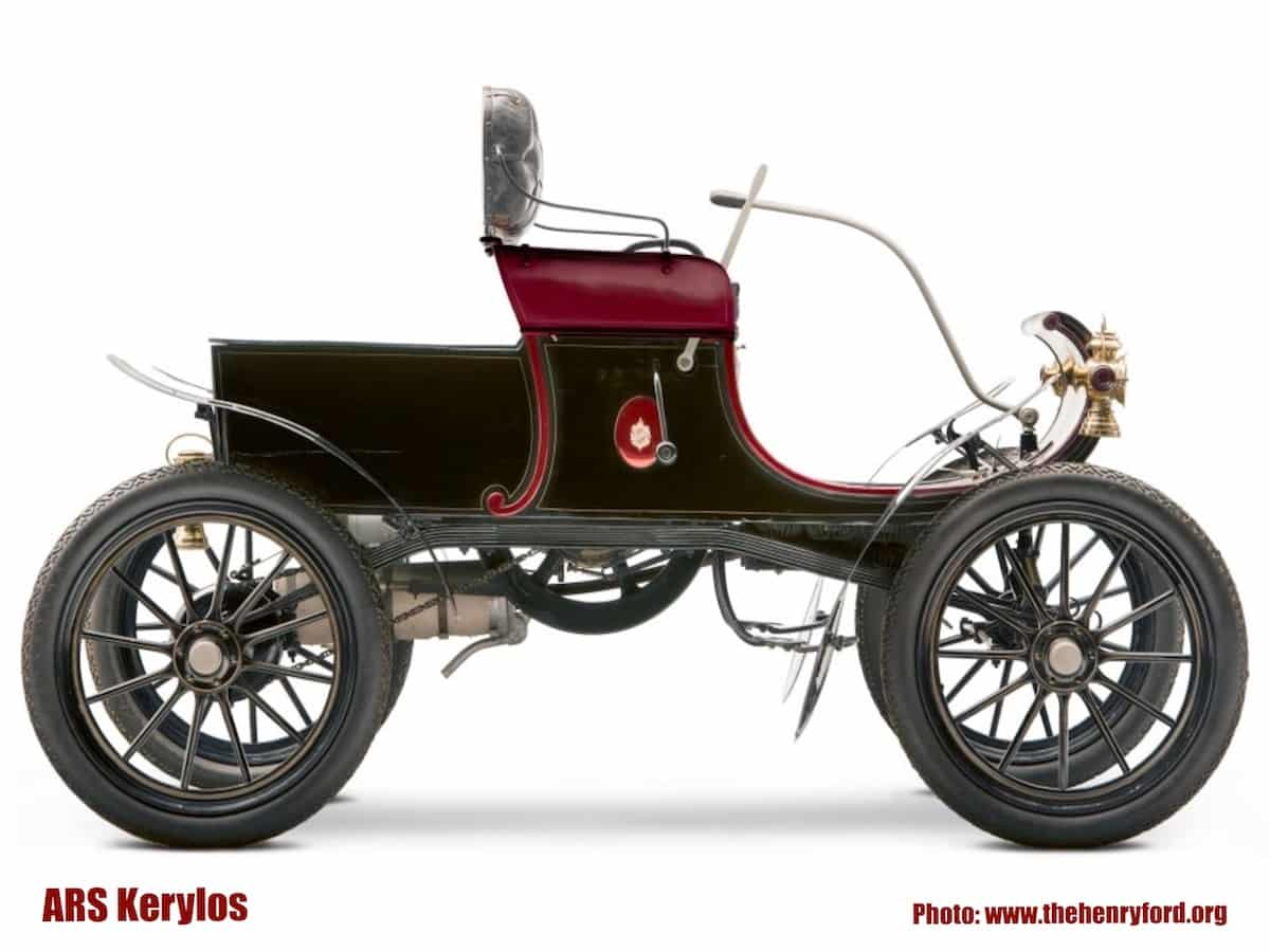 Oldsmobile 1903 года в музее Генри Форда