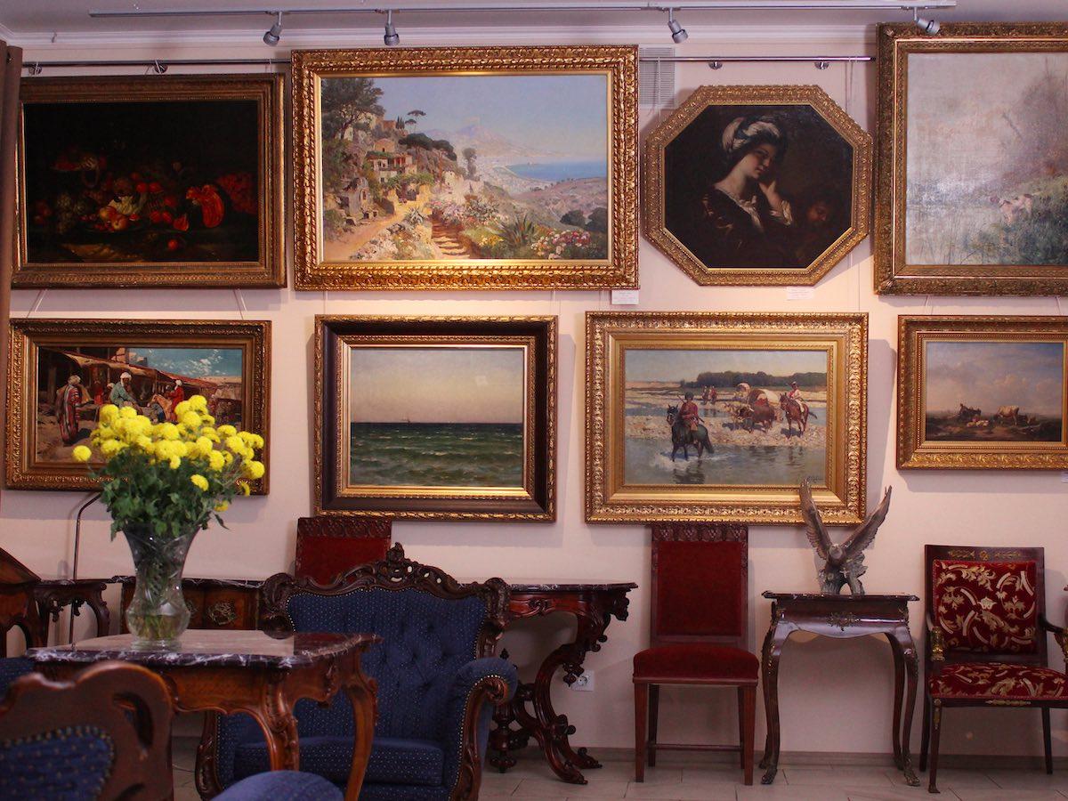 Ивенты на Воздвиженке в антикварной галерее ARS Kerylos