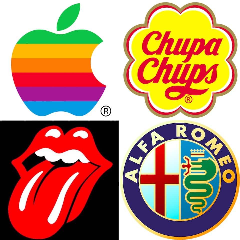 логотип Сальвадор Дали