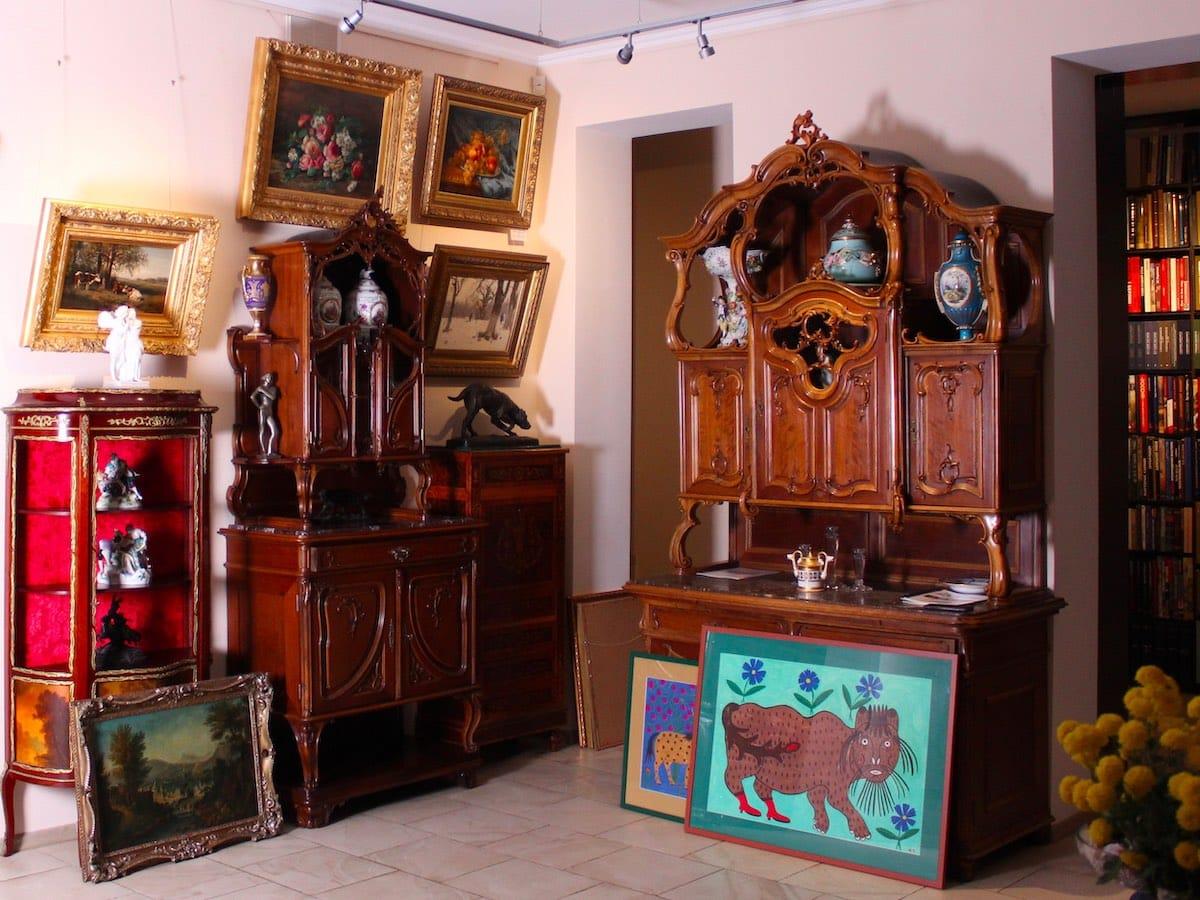 Антикварная галерея ARS Kerylos на Воздвиженке