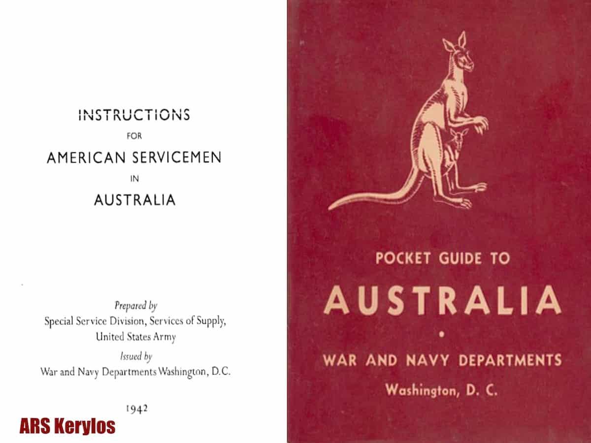 Инструкция для американских солдат в Австралии