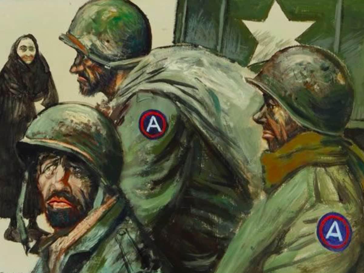 Американские солдаты в Париже, 1944 год