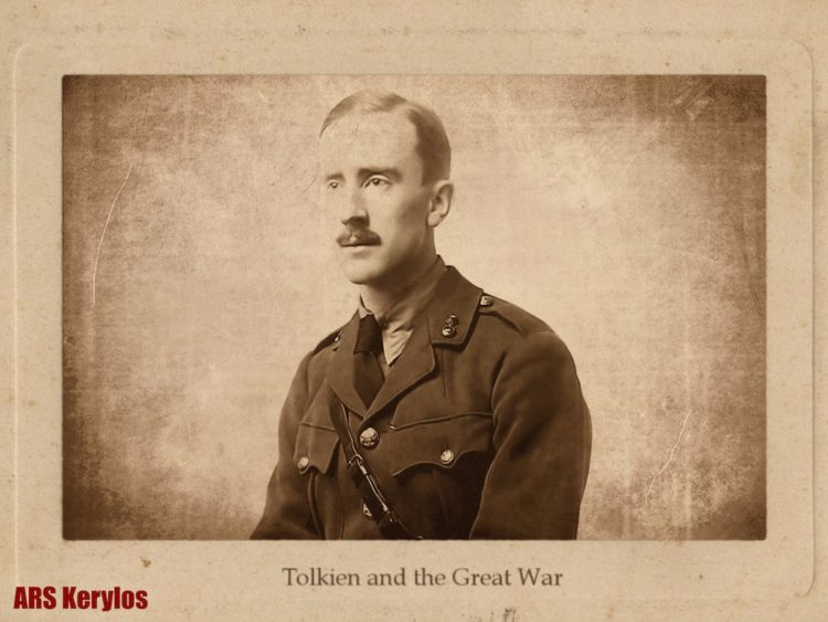 Джон Толкин во время Первой мировой войны