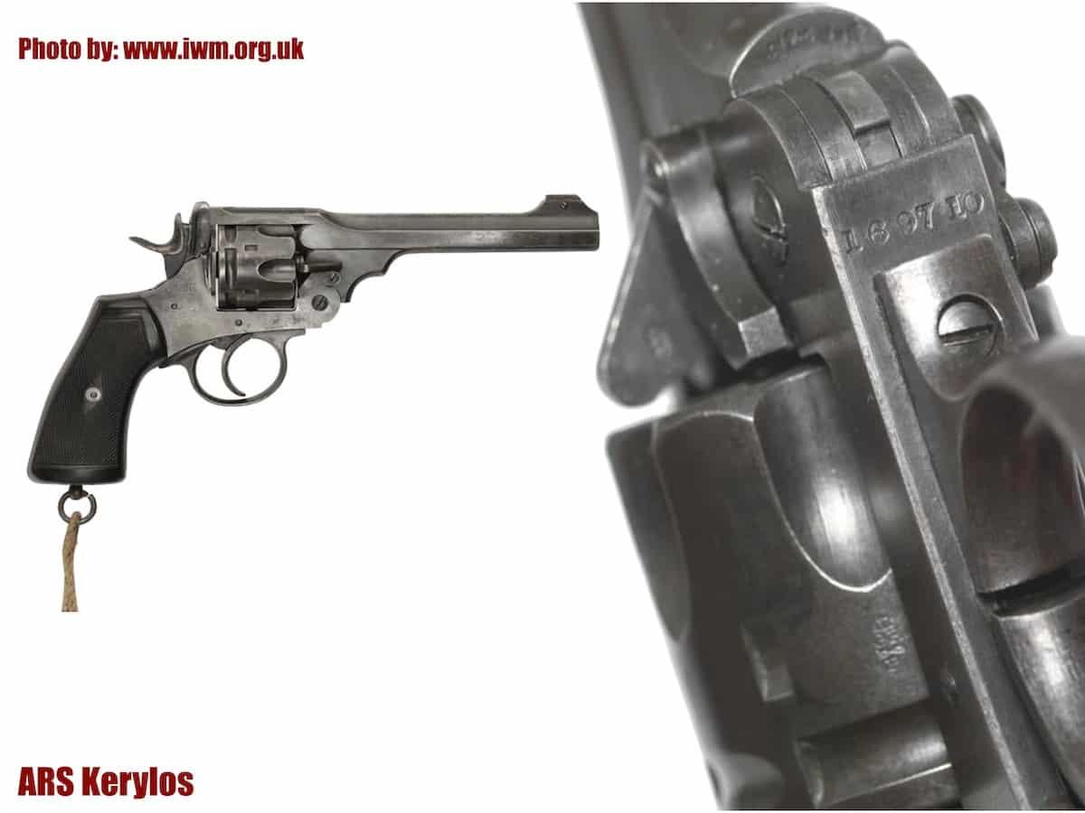 Револьвер Webley Mk VI, принадлежавший Джону Толкину