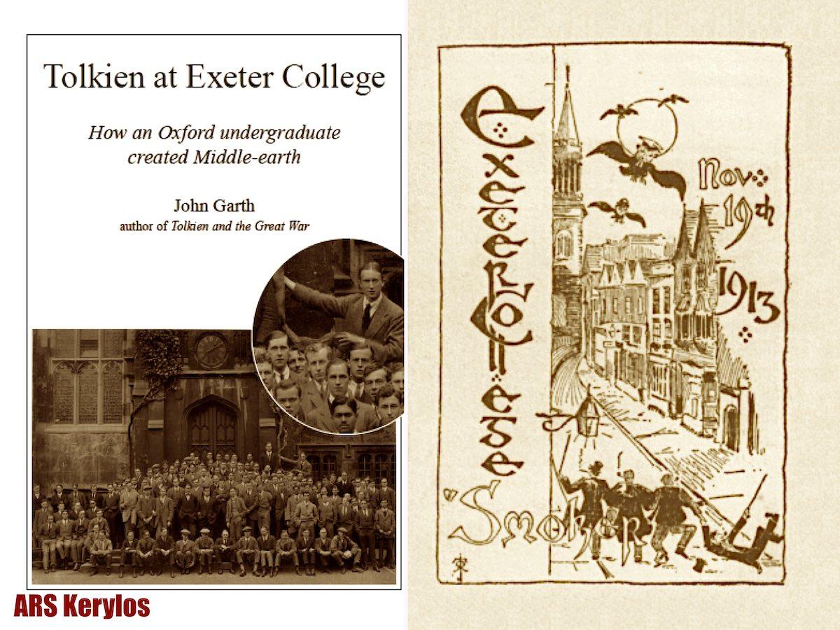 """Статья Джона Гарта """"Рождение легенды: Толкин в Эксетерском колледже""""."""
