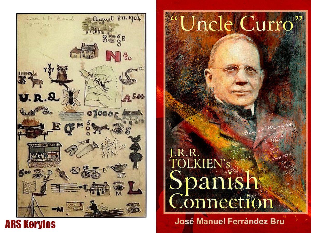 книга «Дядя Курро. Іспанський зв'язок Д.Р.Р. Толкіна»