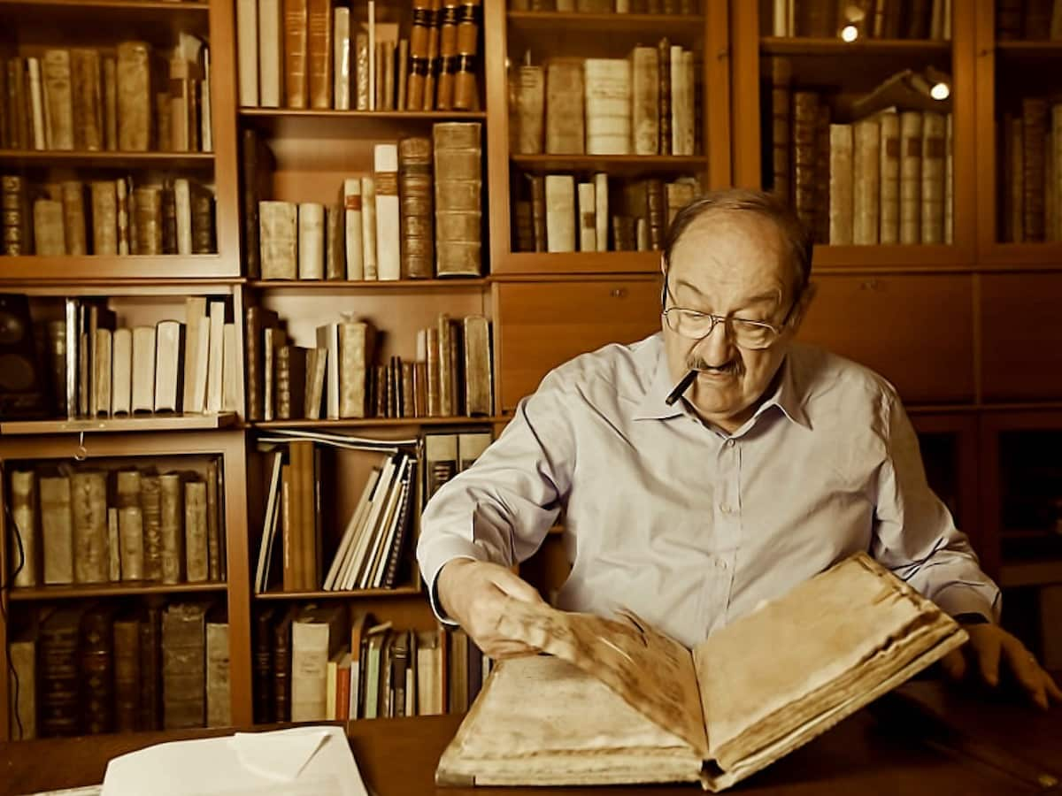 Коллекция старинных книг Умберто Эко