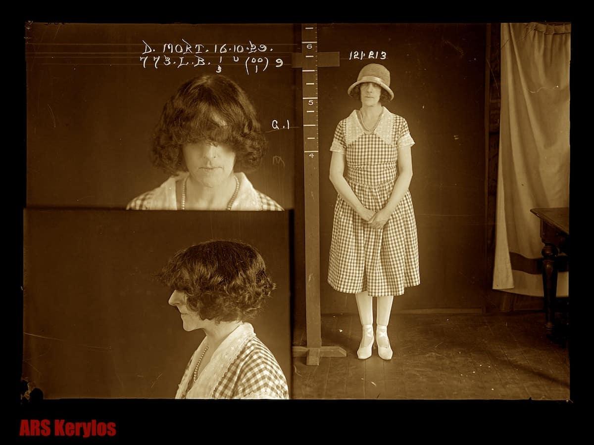 Дороти Морт, осужденная за убийство любовника