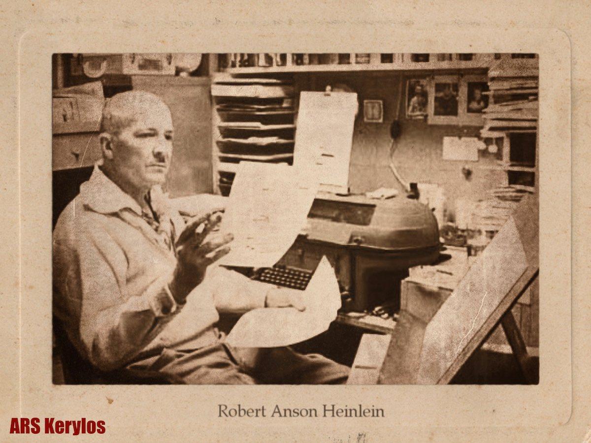 """Писатель Роберт Хайнлайн, автор рассказа """"Интурист изнутри"""""""