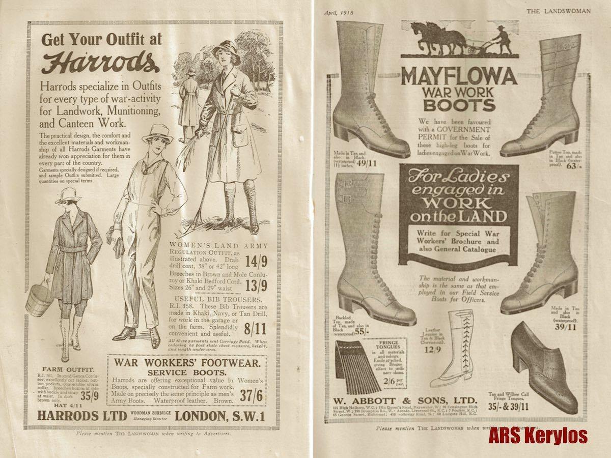 Журнал «The Landswoman» за апрель 1918 года.