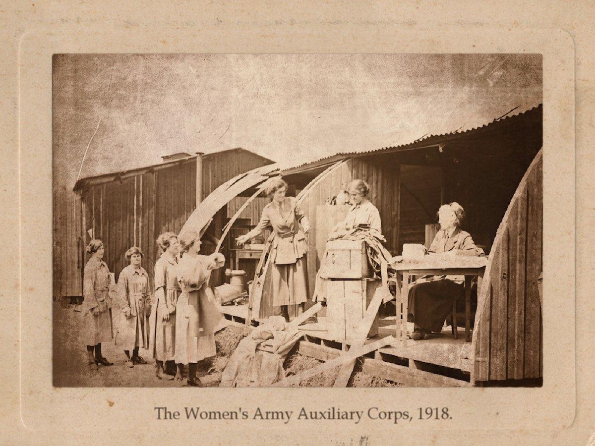 Армейский Вспомогательный Корпус, 22 мая 1918 года.