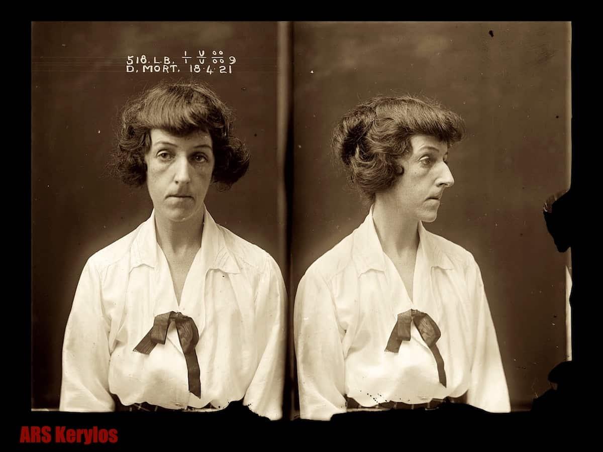 Дороти Морт в тюрьме Лонг-Бей (г. Сидней).
