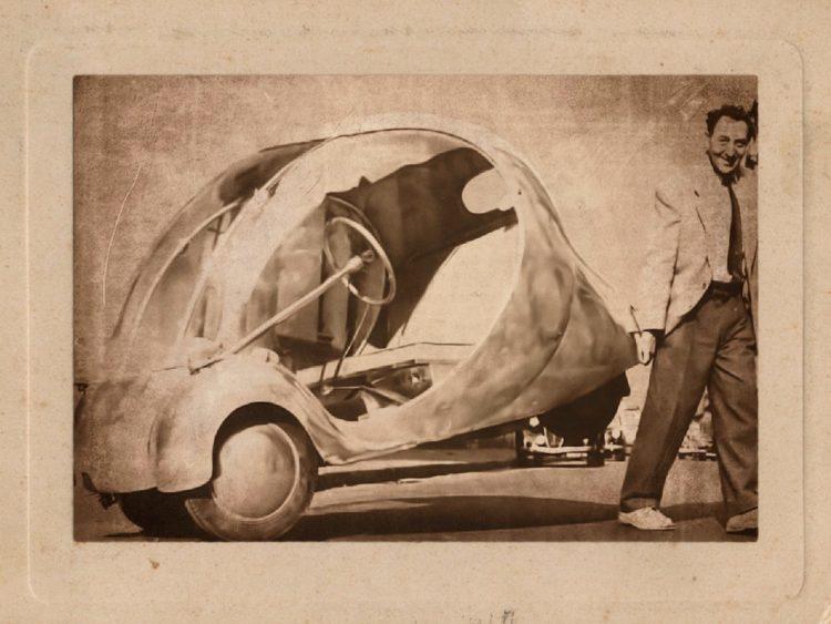 Поль Арзенс - французский конструктор электромобилей