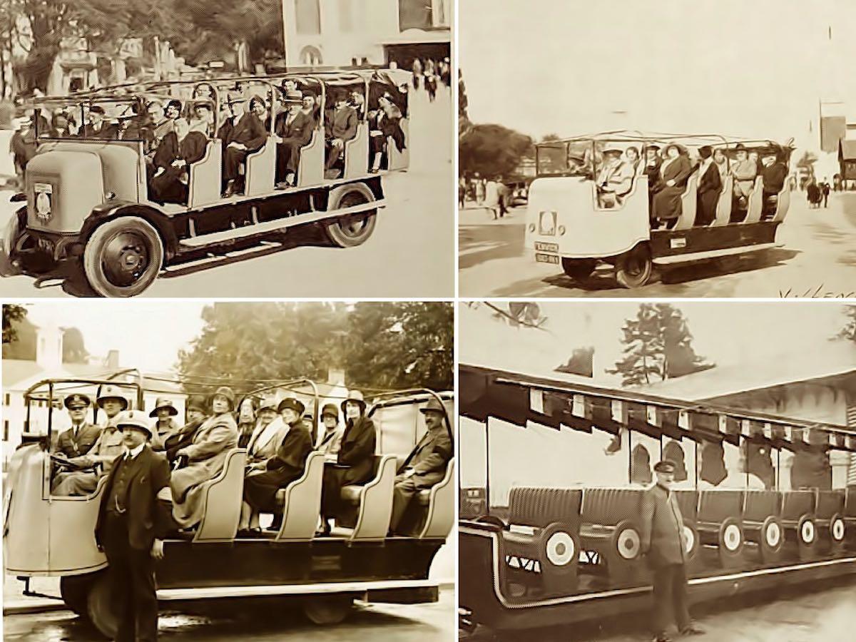 Французские электромобили. Колониальная выставка, 1931 год