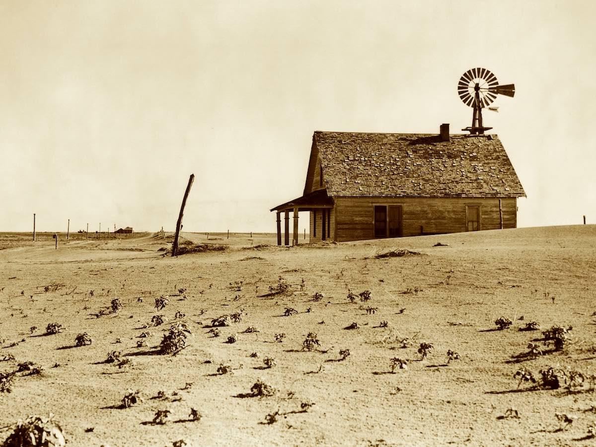 Пылевая чаша, засуха в Америке
