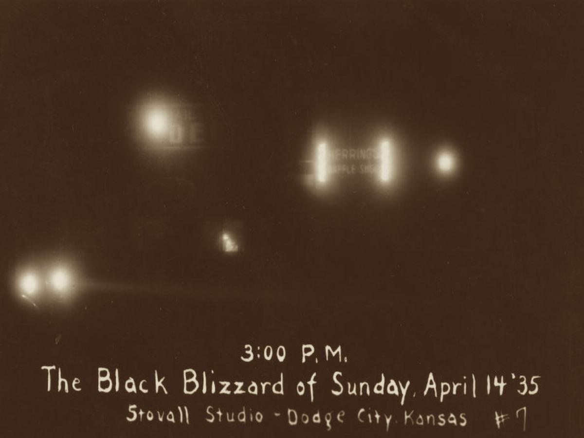 """Черная метель"", г. Додж-Сити, Канзас, 14.04.1935 г., время 15:00."