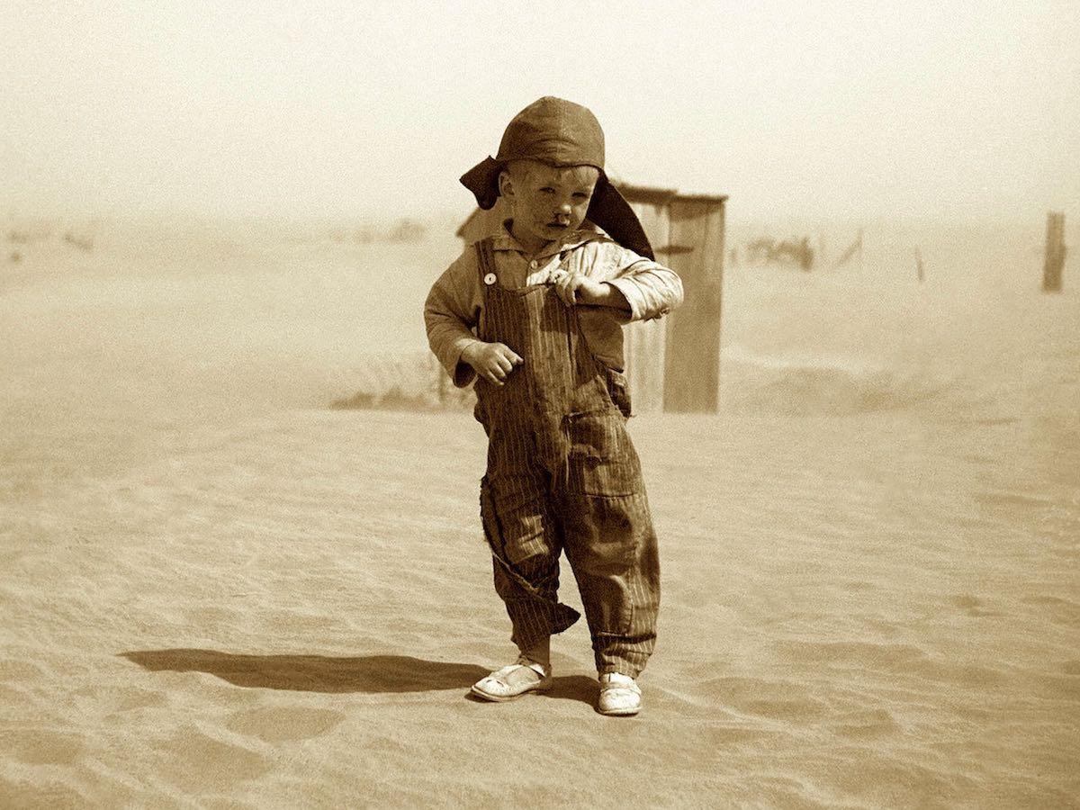 «Сын фермера», 1936 год. Штат Оклахома.