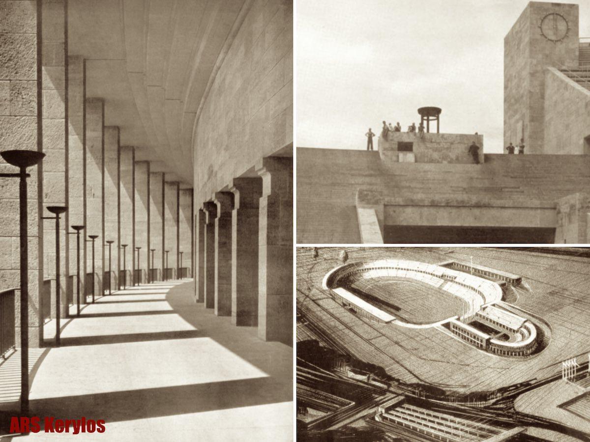 Олимпийский стадион (Берлин, 1936 год)